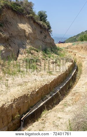 Excavations In Amphipolis, Greece. Archaeologists Have Uncovered What Could Be The Grave Of Alexande