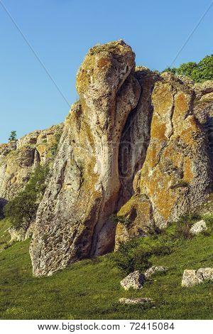 Unique Limestone Rock Formation