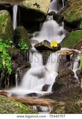 Calm Waterfall