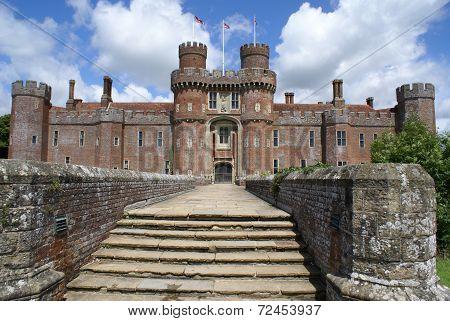Herstmonceux Castle, East Sussex, England