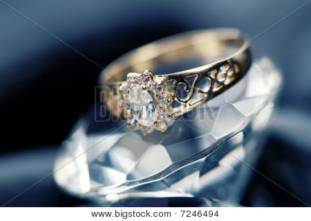 Jewellery on rocks