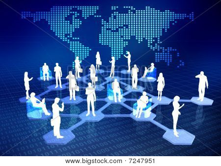 Online network community