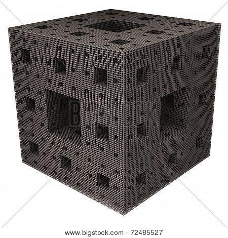Sponge Grid Cube