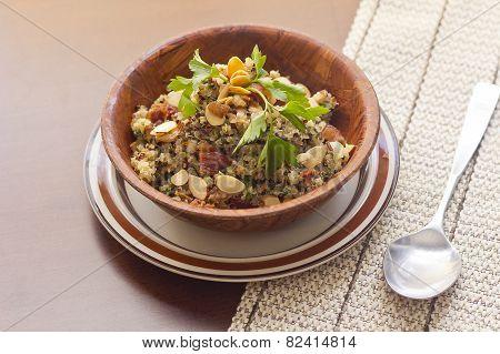 Smoky Quinoa And Bacon Salad