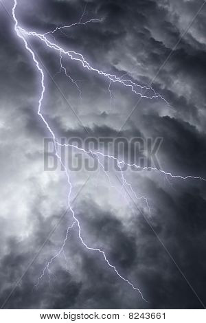 Dramatic Stormy Sky