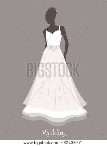 Bride Sihlouette.