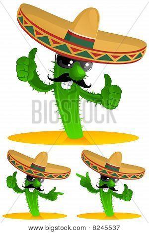 Three Cactus.