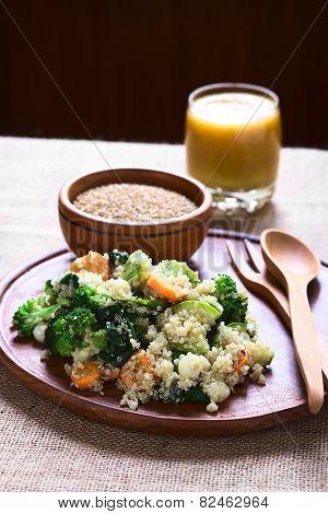 Quinoa with Vegetables