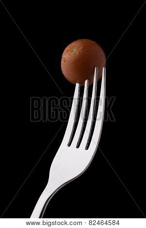 Cocktail Tomato on a Fork