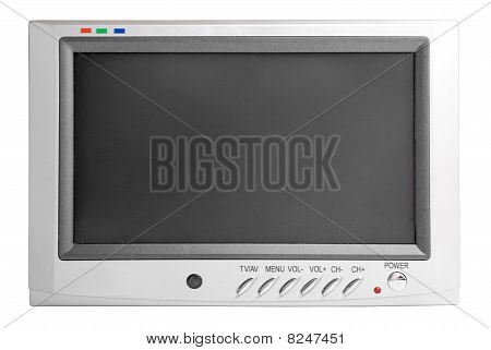 Car Lcd Tv | Isolated