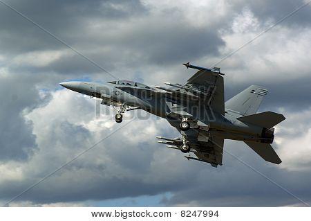 Farnborough Airshow 2010 - F18 Super Hornet 2