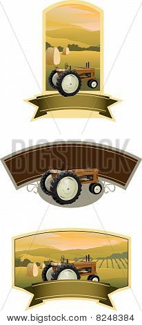 Tractor Labels