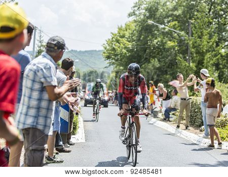 The Cyclist Daniel Oss - Tour De France 2014