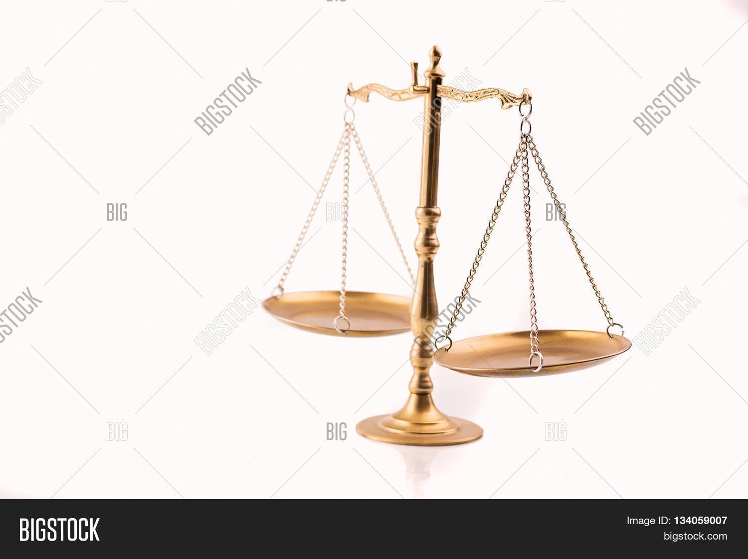 Golden Scales Justice Image Photo Free Trial Bigstock