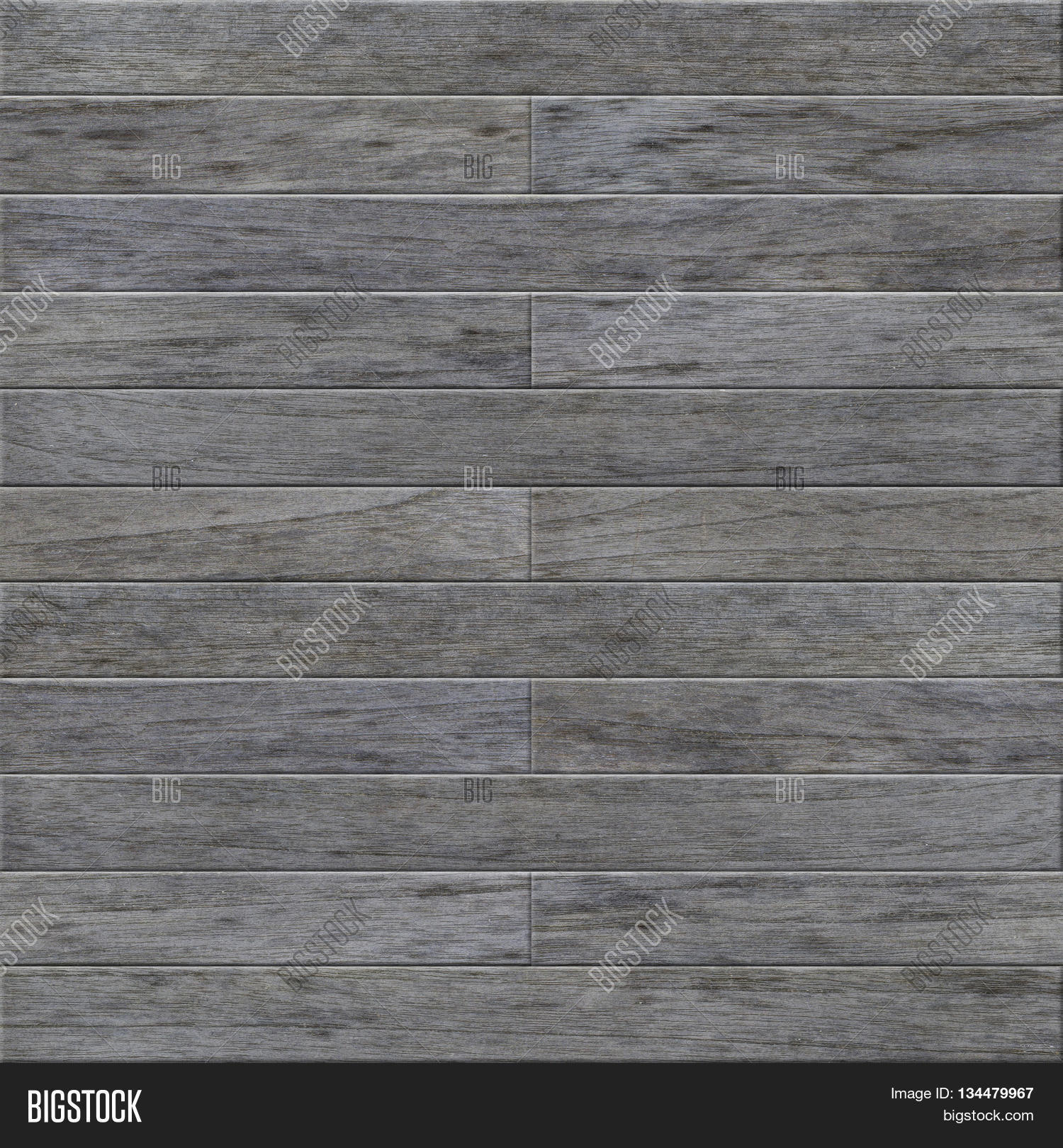 Seamless Old Weathered Gray Teak Wood Background Texture