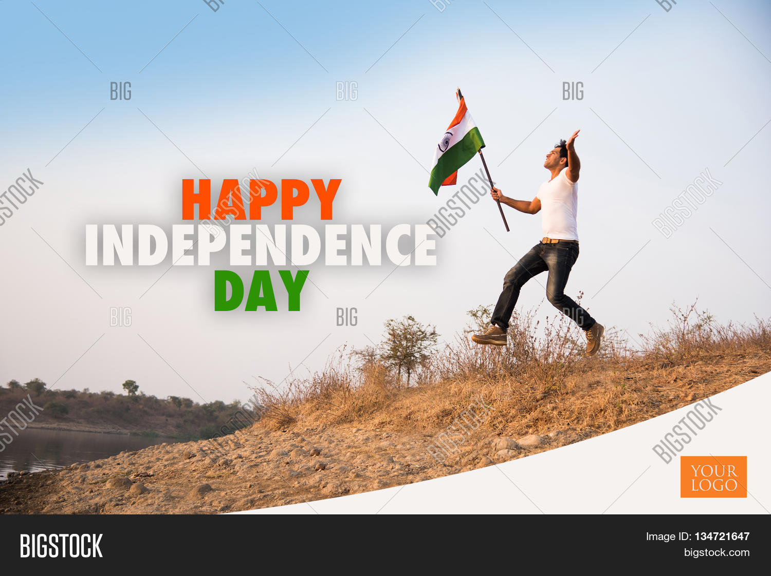 Independence day india image photo free trial bigstock independence day of india greeting card happy independence day greeting card greeting card of m4hsunfo