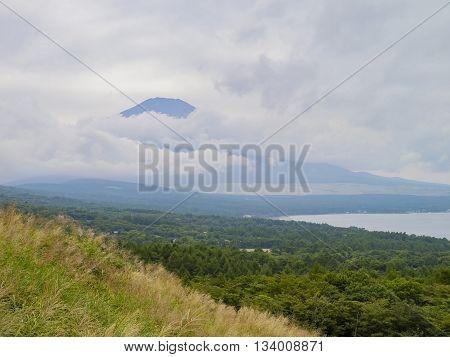 Vista Point At Lake Yamanaka