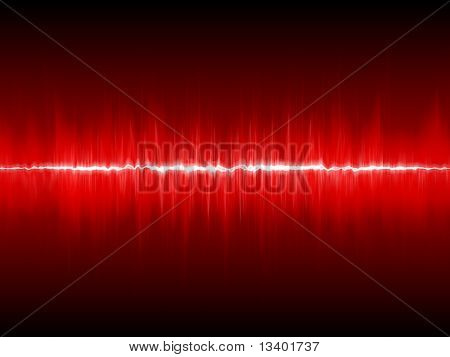 Forma de onda vermelha
