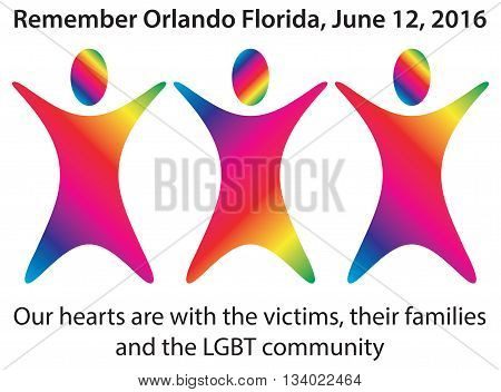 June 12, 2016. Our hearts are with the Orlando victims, their families and the LGBT community