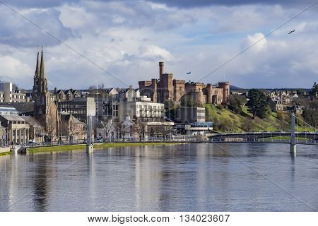 Beautiful Inverness Cityscape