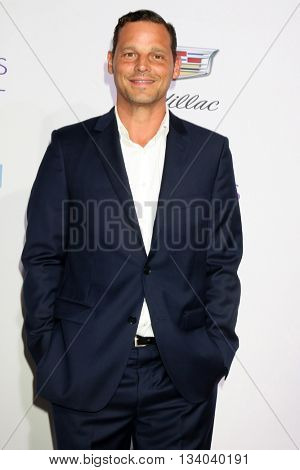 LOS ANGELES - JUN 11:  Justin Chambers at the 15th Annual Chrysalis Butterfly Ball at the Private Residence on June 11, 2016 in Brentwood, CA