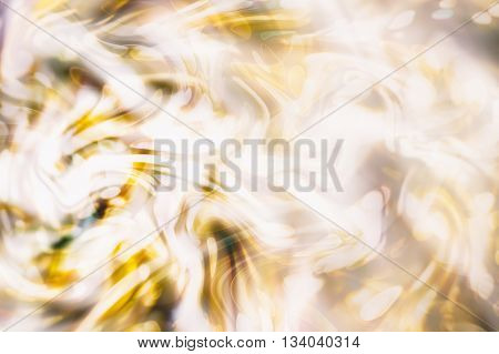 abstract blurred and silver glittering shine bulbs lights background:blur of Christmas wallpaper decorations concept.holiday festival backdrop:sparkle circle lit celebrations display.