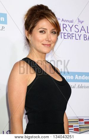 LOS ANGELES - JUN 11:  Sasha Alexander at the 15th Annual Chrysalis Butterfly Ball at the Private Residence on June 11, 2016 in Brentwood, CA
