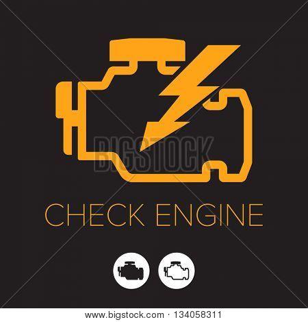 Check Engine icon/ symbol