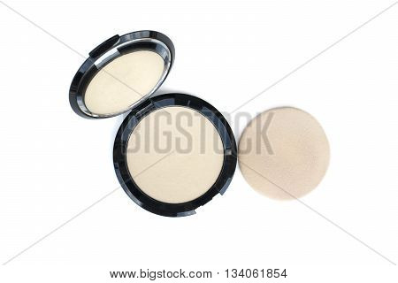 Makeup Pressed Powder And Puff