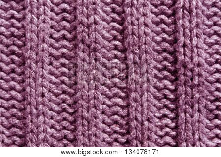 Abstract Pink Knitting Texture Close-up.