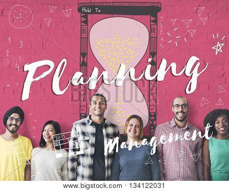 Planning Prioritize Priority Allotment Deadline Concept
