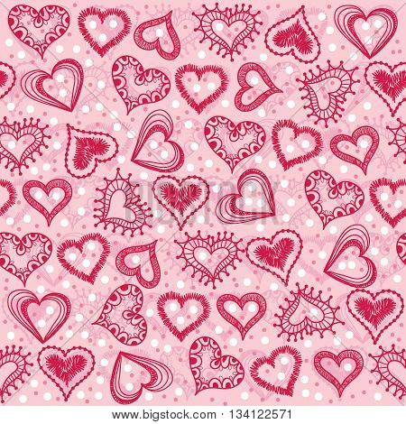 Heart And Snowflakes