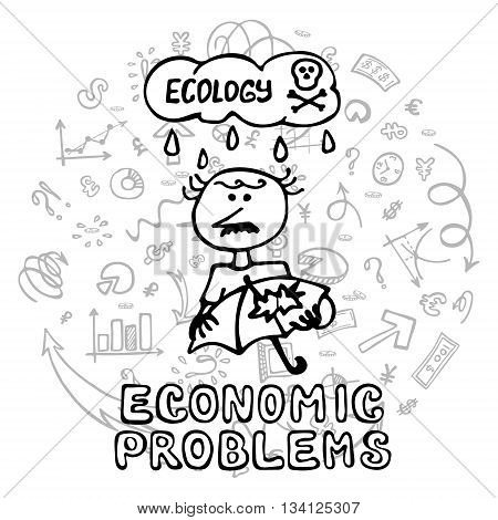 Economic Problems Vector Photo Free Trial