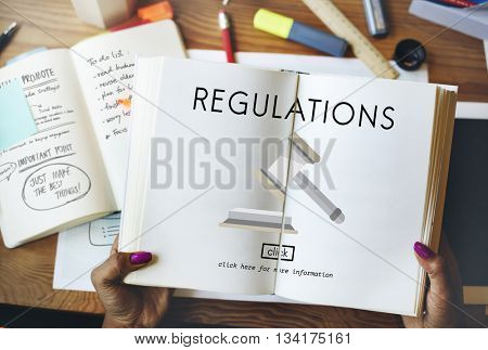 Regulations Business Condition Legal Protocol Concept