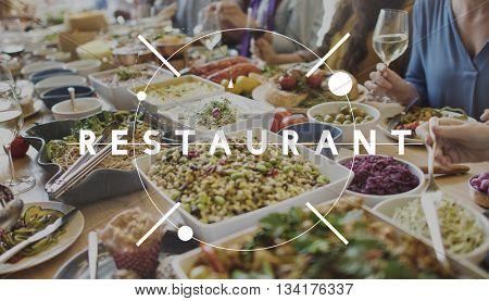 Restaurant Buffet Cafeteria Cuisine Culinary Concept