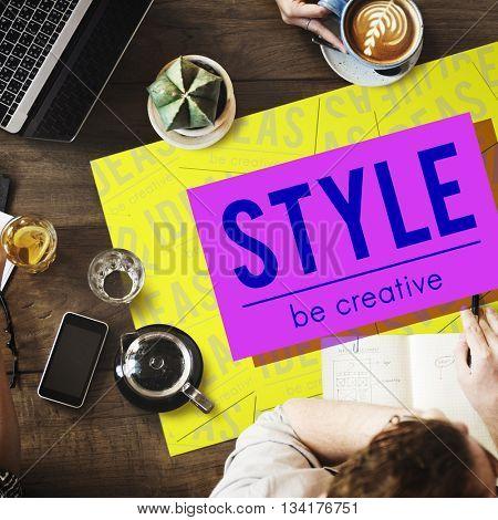 Brand Conceptualize Design Style Inspiration Concept