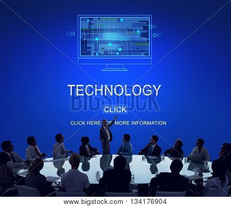 Technology Innovation Science Evolution Solution Concept