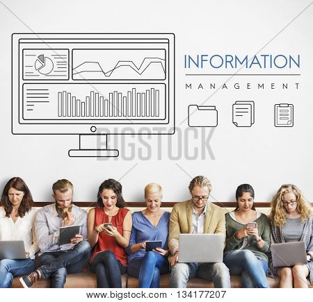 Business Technology Information Networking Data Concept