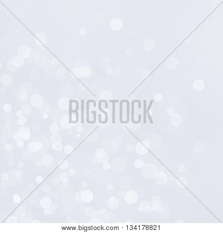 Beautiful white bokeh and abstract light background
