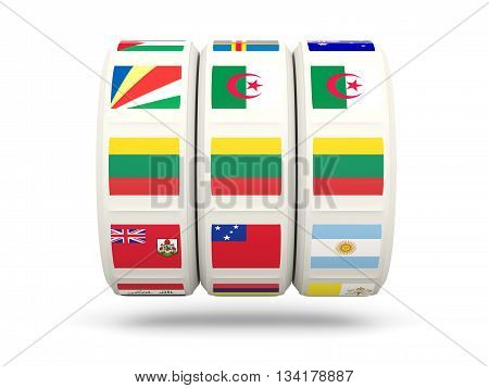 Slots With Flag Of Lithuania