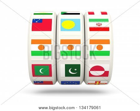 Slots With Flag Of Niger