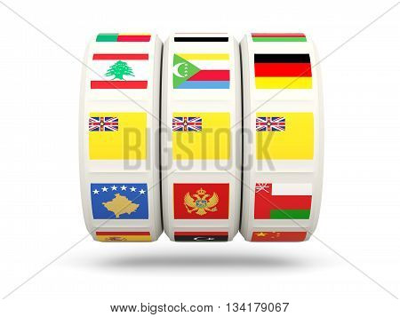 Slots With Flag Of Niue