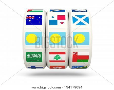 Slots With Flag Of Palau