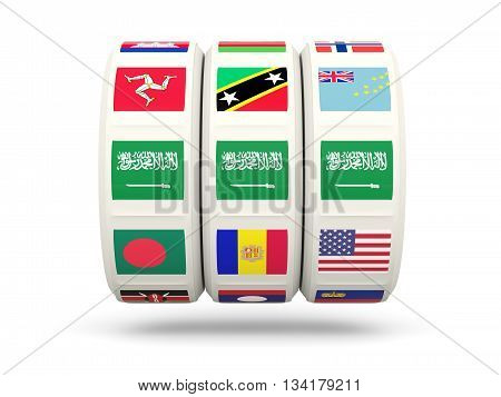 Slots With Flag Of Saudi Arabia