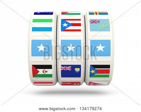 Slots With Flag Of Somalia