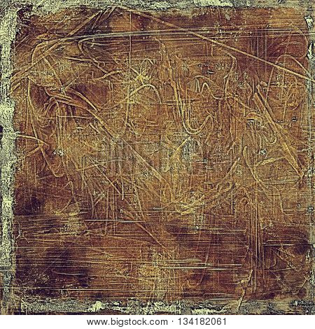 Grunge texture, decorative vintage background. With different color patterns: yellow (beige); brown; gray