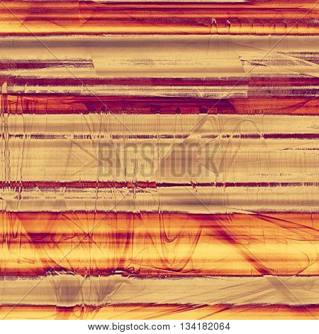 Old grunge vintage background or shabby texture with different color patterns: yellow (beige); brown; gray; red (orange); purple (violet); pink