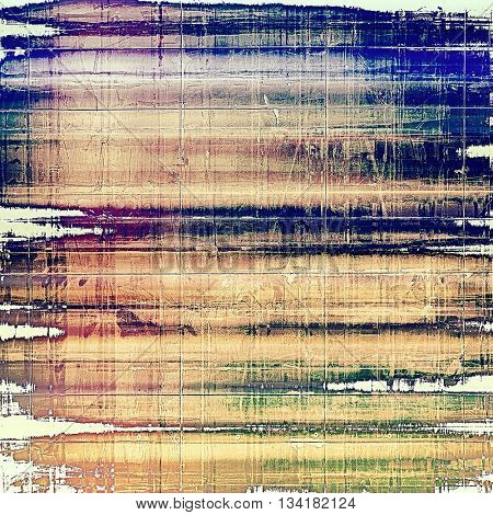 Retro vintage colored background with noise effect; grunge texture with different color patterns: yellow (beige); brown; green; blue; red (orange); purple (violet)