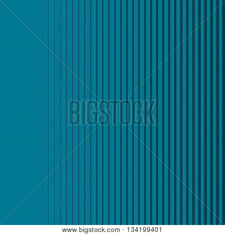 Dark blue gradient lines seamless background vector pattern, vertical blue stripes, parallel lines from thick to thin image