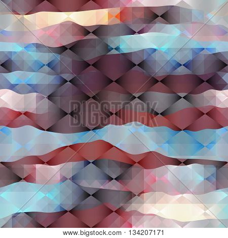 Seamless background pattern.  Rhombus diagonal geometric pattern.